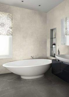 #baustyl #lakberendezes #lakberendezesiotletek #felújítás #stylehome #otthon #szépotthon #homedecor #inspiration #design #homeinspiration #otthoneskertdesign #lakásfelújítás #belsőépítészet #housedesign #instahome #luxuryhome #bathroom #bathroomtiles #bathroomideas #fürdőszoba #szaniter #luxurybathroom #bathroominterior Terrazzo, Aesthetic Value, Marble Effect, Bathroom Interior Design, Clawfoot Bathtub, Exterior Design, Creative Design, Concrete, Porcelain