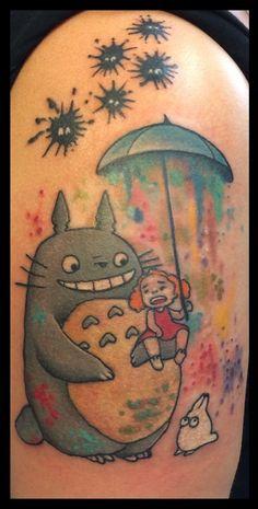 My Totoro Tattoo! I love it <3