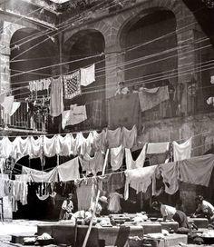 Interior de Vecindad en la Merced- 1936