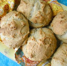 The Spunky Coconut: Biscuits (egg-free, gluten-free, casein-free)