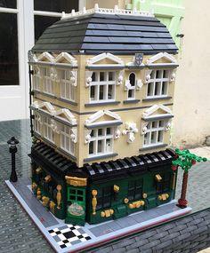 lego modular building