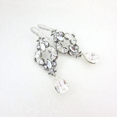 Boucles d'oreilles de mariage en cristal boucles par treasures570