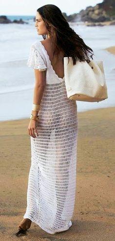 summer crochet dress - Givenchy