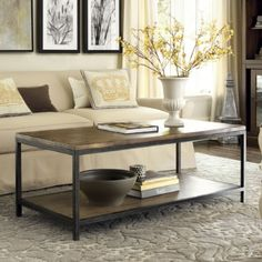 My next purchase is a coffee table, and this is probably it. Good price, good reviews.