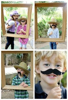 Lots of party ideas including a mustache photo station. Site also includes sources for materials, food, etc.