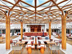 Shore to Ship: Welcome Aboard the Viking Star Cruiseliner by Rottet Studio | Projects | Interior Design