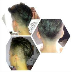 Undercut , hair by lundon at stadium babershop
