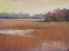 How to Choose the Colors for an Underpainting, painting by artist Karen Margulis