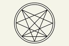 Small Symbol Tattoos, Small Back Tattoos, Symbolic Tattoos, Tattoo Symbols, Satanic Tattoos, Satanic Art, Creepy Catalog, Bioshock Tattoo, Inverted Pentagram