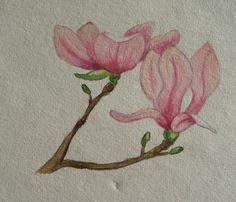Afbeeldingsresultaat voor pinterest aquarel bloemen