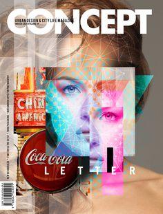 URBAN MAGAZINE COVER II by palax.deviantart.com on @deviantART