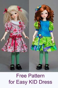 Tutorials and patterns for doll fashions by Antique Lilac.   Lots of interesting ones.