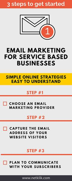 Email marketing for service based businesses (how to get started)