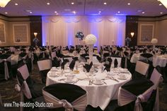 The Grand Ballroom at The Mirage Banquets in Schiller Park. Photographed by The Wedding Studio, Schaumburg IL