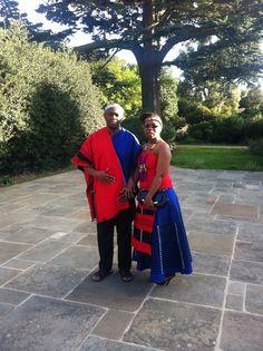 Traditional Xhosa garments