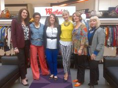 A few of our fab stylists at the Westfield Style Tour. Don't you love their prints?
