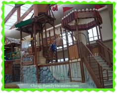 Wilderness at the Smokies, Indoor Water park