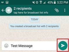 How to Send WhatsApp Messages to Multiple Contacts- Android and IOS