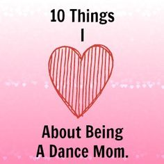 Dance Moms...so true . . And . . . Being a Dance Mom is NOTHING like the show!