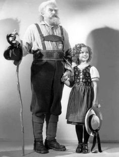 Shirley Temple in Heidi (1937), with Jean Hersholt