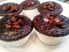 The Stirring Place: No-guilt chocolate chip muffins
