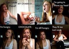 Hahaha, period problems. It's soooo true though! :P