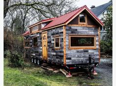 """B.C. Family Needs Land For Tiny Home. By living modestly and below their means, they were able to pay it off in 20 months.  """"It was the best experience for me personally to just learn to live small, to be happy with less,"""" said Lukow. """"And I never wanted to feel that pressure of debt again.""""  Lukow said the most challenging experience for her so far was getting rid of 90 per cent of their belongings over a two-month period — books, furniture, sports equipment and """"things that weren't…"""