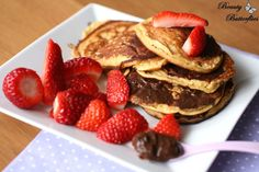 Soja-Pancakes (LowCarb) | Beauty Butterflies