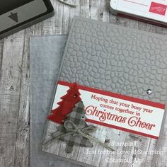 Stampin Up Christmas, Christmas Cards To Make, Xmas Cards, Holiday Cards, Christmas Tag, Christmas 2019, Winter Karten, Stampin Up Weihnachten, Stamping Up Cards