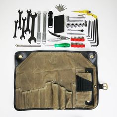 Motorcycle Tool Roll by Union Garage NYC
