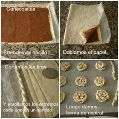 Puff pastry and cinnamon sugar filling Sweet Pastries, Bread And Pastries, Pastry Recipes, Cooking Recipes, No Bake Desserts, Dessert Recipes, Comida Diy, Bread Shaping, Bread Art
