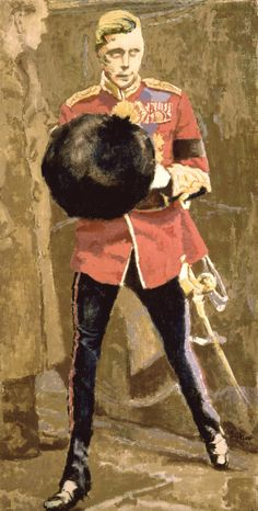 """Walter Richard Sickert: H. M. King Edward VIII, 1936. King for less than a year; he abdicated to marry """"the woman I love."""""""