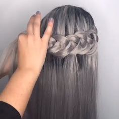 super beautfiul but hard to do DIY Braided Hairstyle tutorial beautiful hair styles Cute DIY Braid Hair Tutorial (Hard) Braided Hairstyles Tutorials, Up Hairstyles, Pretty Hairstyles, Elegant Hairstyles, Hair Tutorials, Hair Tutorial Videos, Hair Upstyles, Curly Hair Styles, Natural Hair Styles