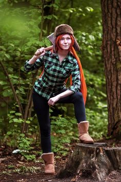 My old Wendy cosplay 🌲 : gravityfalls Group Halloween Costumes, Group Costumes, Halloween Outfits, Cool Costumes, Cosplay Costumes, Costume Ideas, Group Cosplay, Epic Cosplay, Cosplay Ideas