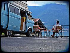 Como lake - Italia - European road trip vw t3 European Road Trip, Diy Interior, Vw, Italy, Handmade Home Decor