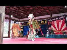 Iwami-kagura:Matsuo taisha shrine(石見神楽:松尾大社)