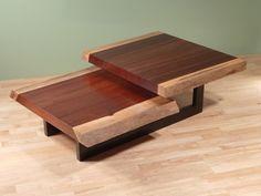 Custom Made Two-Tier Coffee Table