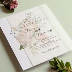"designki.com on Instagram: ""Floral Theme 🌷 Double Layered Wedding Invitation - Translucent Paper + Linen Bright White Paper 👩💻designed + printed by @design.ki . .…"" Graphic Design Print, Floral Theme, White Paper, Paper Design, Wedding Invitations, Layers, Bright, Printed, Instagram"