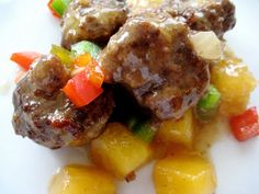 A Bountiful Kitchen: Sweet and Sour Meatballs