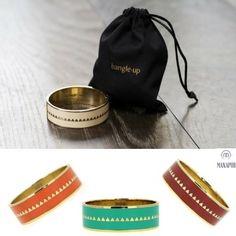 Bracelet Bollystud, Bangle up. Bijoux Français avec une touch à l'indienne