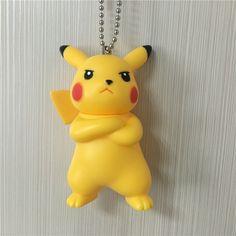 8cm Pikachu Action Figure Model, Pikachu Pendant Toys, 20pcs/lot Pikachu Keychain Models, Anime Brinquedos, Kids Toys #Affiliate