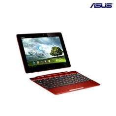 Asus Transformer Android 4.0 Quad-Core 1.2GHz 16GB Dual-Camera 10.1' Tablet PC - Black or Red at 22% Savings off Retail!