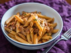 Penne Boscaiola (Woodsman-Style Pasta With Mushrooms and Bacon) Recipe   Serious Eats