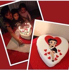 Betty boop cake!!
