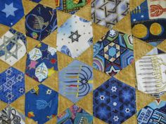 Quilting Blog - Cactus Needle Quilts, Fabric and More: Jewish I Spy Quilt