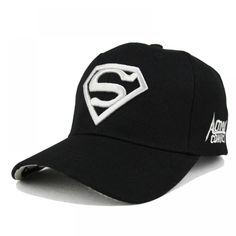 Superman Cap Casual Outdoor Baseball Caps For Men Hats Women Snapback Caps  For Adult Sun Hat Gorras wholesale 7675fb8d8ab