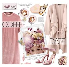 """Romwe. Coffee Date."" by imurzilkina ❤ liked on Polyvore featuring BaubleBar, H&M, Charbonnel et Walker, Martha Stewart, romwe and CoffeeDate"
