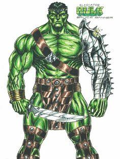 Hulk Medieval Ink By Marcioabreu7 Deviantart Com On