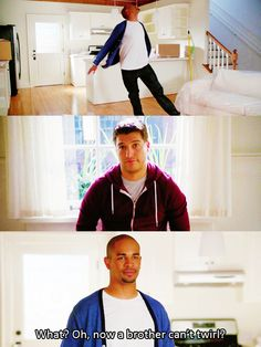 Happy Endings--I flippin' LOVE this show...Max & Penny are possibly the funniest characters ever created :)