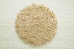 Saw this bamboo wall hanging last week at the Museum of Contemporary Craft and fell in love.